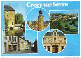 Carte Postale 02. Crécy-sur-Serre Trés Beau Plan - Frankrijk