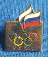 OLYMPIC GAMES - SLOVENIA NOC  Badge / Pin - Olympische Spelen