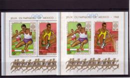 Olympics 1968 - Athletics - BURUNDI - S/S Perf.+imp. MNH - Zomer 1968: Mexico-City