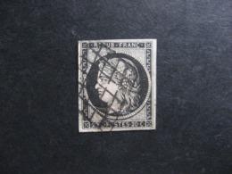 E). N° 3, Oblitéré. - 1849-1850 Ceres