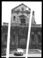 BITONTO - BAT  - ANNI 70 - VECCHIA FOTO ORIGINALE - CHIESA DI S.GAETANO CON FIAT 600 E 127 - Bitonto