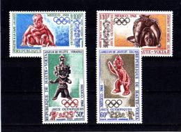 Olympics 1968 - History - UPPER VOLTA - Set MNH - Zomer 1968: Mexico-City
