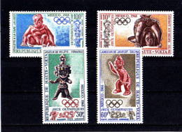 Olympics 1968 - History - UPPER VOLTA - Set MNH - Summer 1968: Mexico City