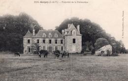 Guipry (35) - La Propriété De La Prévautière. - France