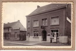 BELGIQUE - AULNOIS QUEVY - CAFE EPICERIE FRANCO BELGE - CORON D'AMOUR - POMPE A ESSENCE BP - PLAQUE EMAILLEE - Belgio