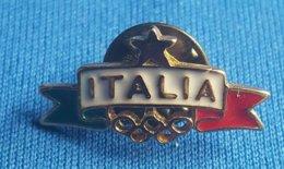 OLYMPIC GAMES - ITALY, ITALIA  NOC  Badge / Pin - Olympische Spelen