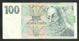 TCHECOSLOVAQUIE = UN BILLET DE 100 COURONNES DE 1997 - Tchécoslovaquie