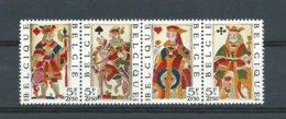 Cote -75% - Belgie - *** Postfris*** 1973 - Speelkaarten - OCB 1695/98 - Cote 2,00€ - Lot Nr. 896 - Belgique