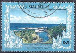 Maurizius, 1991 River Estuary Post, 5R  # S.G. 814 - Michel 728 - Scott 694  USED - Mauritius (1968-...)