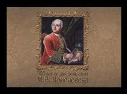 Russia 2011 Mih. 1775 Scientist Mikhail Lomonosov (prestige Booklet) MNH ** - 1992-.... Federation