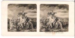 Jésus Est Détaché De La Croix  - 1904 (S064) - Stereo-Photographie