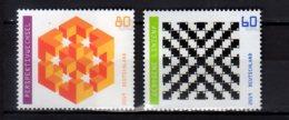 2019 Germany - Optical Illusions I - Set Of 2 V MNH** MiNr. 3496 - 3497 - Unused Stamps