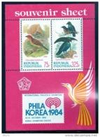 INDONESIA 1984 BIRDS  SHEET MNH - Uccelli