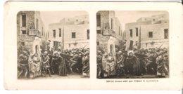 Jésus Aidé Par Simon Le Cyrénéen   - 1904 (S065) - Stereo-Photographie