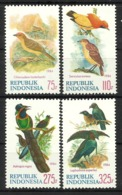 INDONESIA 1984 BIRDS  SET MNH - Uccelli