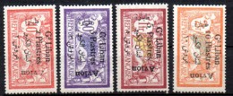Col17  Colonie Grand Liban PA  N° 5 à 8 Neuf X MH  Cote 69,00 € - Gross-Libanon (1924-1945)