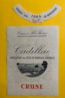 12194  - Cadillac 1964 Cruse - Bordeaux