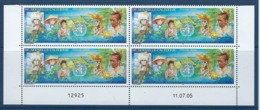 """Nle-Caledonie Coins Datés  YT 952 """" Conférence De L'OMS """" Neuf** Du 11.07.05 - New Caledonia"""