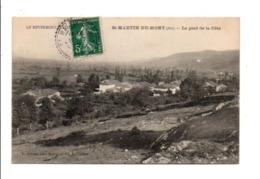 CARTE DE SAINT MARTIN DU MONT (AIN) 1909 - 1877-1920: Semi-moderne Periode