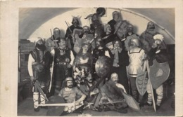 ZELL Am SEE AUSTRIA ~GROUP OF PEOPLE DRESSED AS NORSEMEN OR VIKINGS~ 1900s PHOTO POSTCARD 42398 - Zell Am See