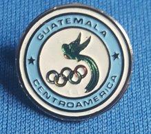 OLYMPIC GAMES - GUATEMALA NOC  Badge / Pin # 2 - Olympische Spelen