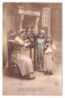 CARTE PHOTO HONNEUR A JOFFRE - 1914-18
