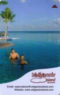 Veligandu-Island-Maldives[540]---key Card, Room Key, Schlusselkarte, Hotelkarte - Hotelkarten