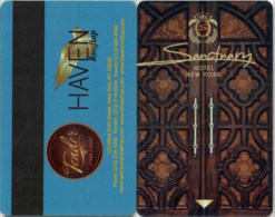 Sanctuary Hotel New York -1561---key Card, Room Key, Schlusselkarte, Hotelkarte - Hotelkarten