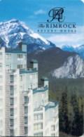 Rimrock Resort Hotel Banff Canada -1639---key Card, Room Key, Schlusselkarte, Hotelkarte - Hotelkarten