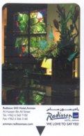 Radisson-SAS-Hotel-Amman---We-love-to-say-yes[574d]--key Card, Room Key, Schlusselkarte, Hotelkarte - Hotelkarten