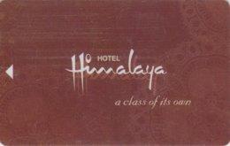 Hotel-Himalaya NEPAL[2525]-----key Card, Room Key, Schlusselkarte, Hotelkarte - Hotelkarten