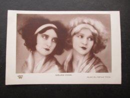 CP ACTEURS / ACTRICES (V1806) SOEUR POGGI (2 Vues) J.R.P.R. PARIS N° 315 Année 20/30 Studio G.L. Manuel Frères - Schauspieler