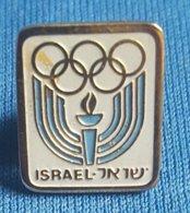 OLYMPIC GAMES ISRAEL NOC  Badge / Pin - Olympische Spelen