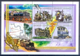 O147- Madagascar Madagaskar 2000. Transport. Trains. - Trains