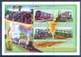 O149- Madagascar Madagaskar 2000. Transport. Trains. - Trains