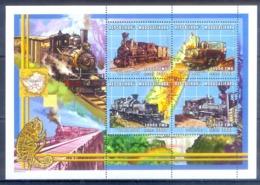 O151- Madagascar Madagaskar 2000. Transport. Trains. - Trains
