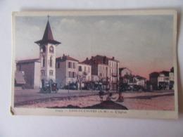 Cpa, Trés Belle Vue, Cros De Cagnes, Alpes Maritimes, L'église - Autres Communes