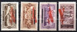 Col17  Colonie Grand Liban PA  N° 21 à 24 Neuf XX MNH  Cote 44,00 € - Gross-Libanon (1924-1945)