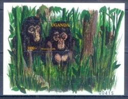 O153- Uganda 2001 Mountain Gorilla. - Uganda (1962-...)