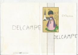 Communion De Claude Le 3 Avril 1966 - Menus