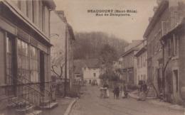 Beaucourt : Rue De Dampierre - Beaucourt