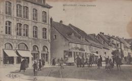 Beaucourt : Place Centrale - Beaucourt
