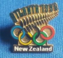 OLYMPIC GAMES, ATLANTA 1996. NEW ZEALAND  NOC  Enamel Badge / Pin - Olympische Spelen