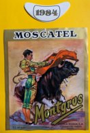 12208  -  Moscatle Montgros 1984 Corrida - Stieren