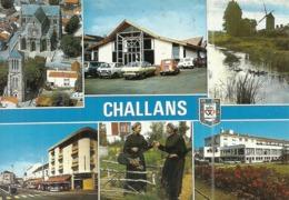 (CHALLANS )( 85 VENDEE ) CAPITALE DU MARAIS - Challans