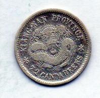 CHINA - KIANG NAN PROVINCE, 10 Cents, Silver, Year 1904, KM #142a.13 - China