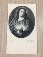 Santino Sacro Cuore Di Gesu' In Ricordo Del Sac. Novello P. Mario Rossi In Soraga (tn) - Santini