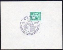 DDR 1981 Gefälligkeitsabstempelung / Piece  2330 BERGEN 1  ; Alter Leuchtturm Am Kap Arkona - Leuchttürme