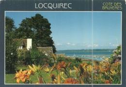 (LOCQUIREC )( 29 FINISTERE ) LE PORT A MAREE BASSE - Locquirec