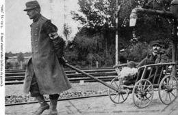 Guerre 1914, Tableau De Guerre, Il Faut S'entraider, Croix Rouge - Guerra 1914-18